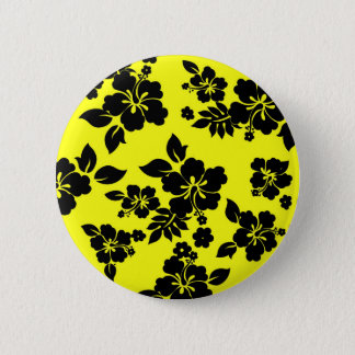 Gul mörk hawaiibo standard knapp rund 5.7 cm