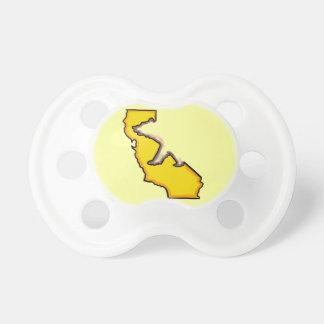 Gul nappar för bebis för Kalifornien björnsymbol