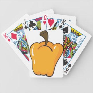 gul paprika spelkort