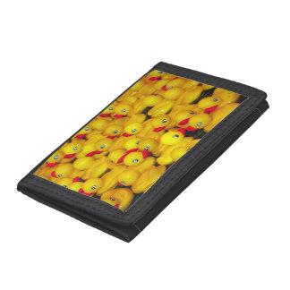 Gul rubber duckiestryckplånbok
