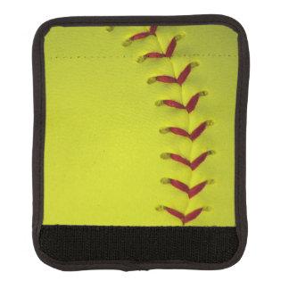 Gul softball för neon handtagsskydd