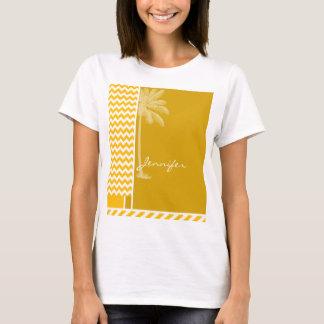 Gul sparre för bärnsten; Handflatan Tee Shirt