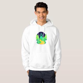 gul tegelstenvägmanar hooded tröja för hoodie