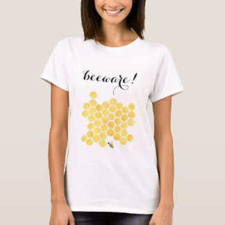 Gula bimålningkvinna grundläggande skjorta tee shirts
