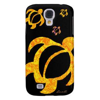 Gula LavaHonu Galaxy S4 Fodral