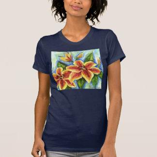 Gula liljar t-shirts
