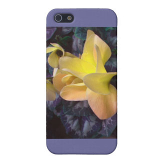 Gula Orchids - iphone case iPhone 5 Fodral