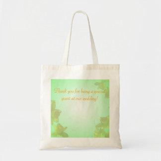 gula tulpanblommor tackar dig tote bags