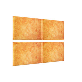 Guld- akryl delad kanvastryck fyra