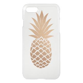 Guld- ananas iPhone 7 skal