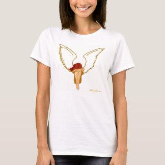 Guld- ängel tshirts