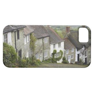 Guld- backe, Shaftesbury, Dorset, England som iPhone 5 Case-Mate Skydd