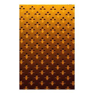 guld- bakgrund brevpapper