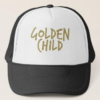 Guld- barn truckerkeps