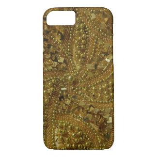 Guld- bling glitter & pärlor