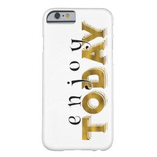 Guld- bokstäver för inspirera ord barely there iPhone 6 fodral