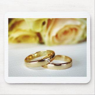 Guld- bröllopmusikband mus matta
