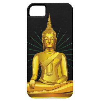 Guld- Buddha iPhone 5 Case-Mate Cases