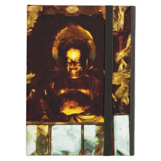 Guld- Buddha Kyoto Japan abstrakt Impressionism Fodral För iPad Air