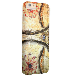 Guld- Buddha synar iphone case Barely There iPhone 6 Plus Fodral