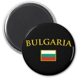 Guld- Bulgarien Magneter För Kylskåp