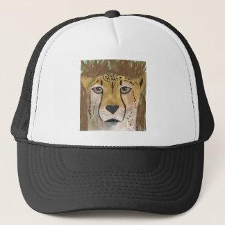 Guld- Cheetah Keps
