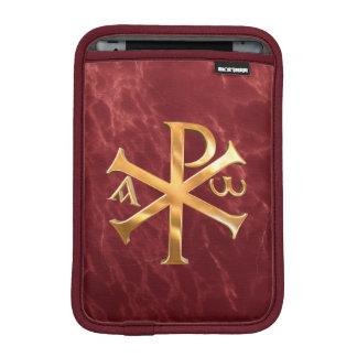 Guld- Chi-Rho Sleeve För iPad Mini
