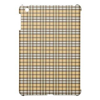 Guld-/chokladpläd Pern iPad Mini Mobil Skydd