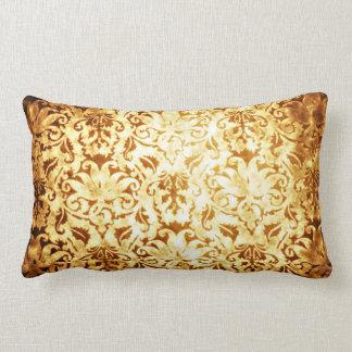Guld- dagar för vintagestil lumbarkudde