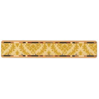 Guld- damast nyckelhängare