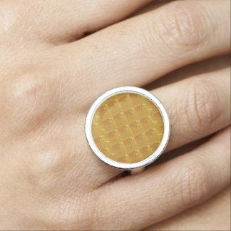 GULD- datummärkning för romantik nvn247 för Ring Med Foto