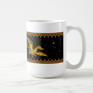 Guld- drake kaffemugg