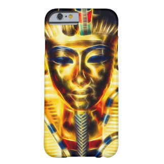 Guld- egyptisk PharaohenergiFractal Barely There iPhone 6 Fodral