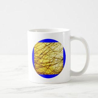 Guld- flätar kaffemugg