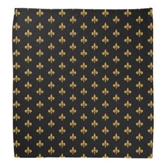 Guld- Fleur de Lis TP Scarf