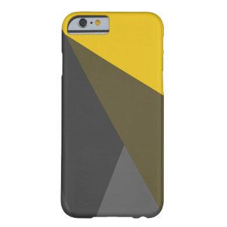 Guld- fodral för grå färgtriangeliPhone 6, knappt Barely There iPhone 6 Fodral