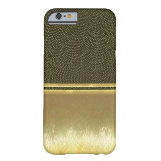 Guld- fodral för snäcka för illusioniPhone 6 Barely There iPhone 6 Fodral