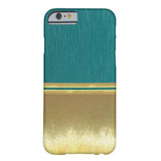 Guld- fodral för snäcka för illusioniPhone 6 Barely There iPhone 6 Skal