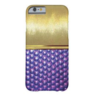 Guld- fodral för snäcka för strukturdesigniPhone 6 Barely There iPhone 6 Skal