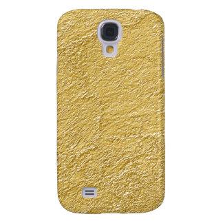 Guld- fodral för strukturSamsung galax S4 Galaxy S4 Fodral