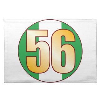 Guld för 56 NIGERIA Bordstablett