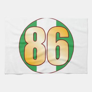 Guld för 86 NIGERIA Kökshandduk