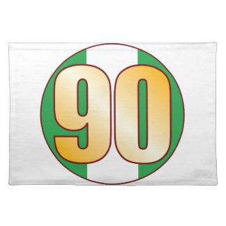Guld för 90 NIGERIA Bordstablett