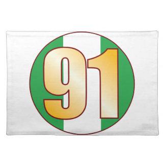 Guld för 91 NIGERIA Bordstablett