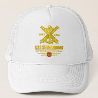Guld för CSS Shenandoah (marinEmblem) Truckerkeps