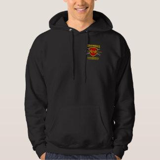 Guld för CSS Virginia (marinEmblem) Sweatshirt Med Luva