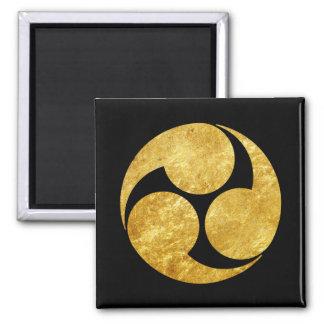 Guld för Kobayakawa Måndag japanskt klanfaux på Magnet