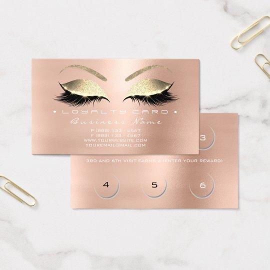 Guld för snärtar för salong för skönhet för visitkort