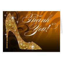 Guld för tack | för glitterstilettsebra