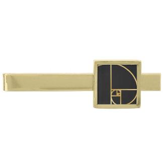 Guld- förhållande guldpläterad slipsnål